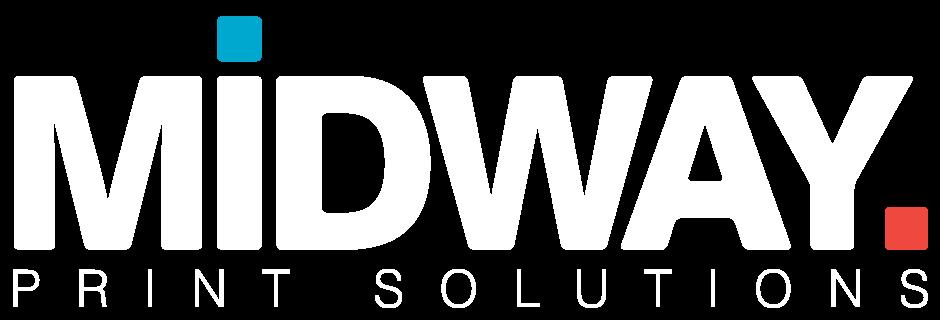 Midway Print - Logo White