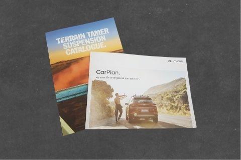 Midway Print - Brochures