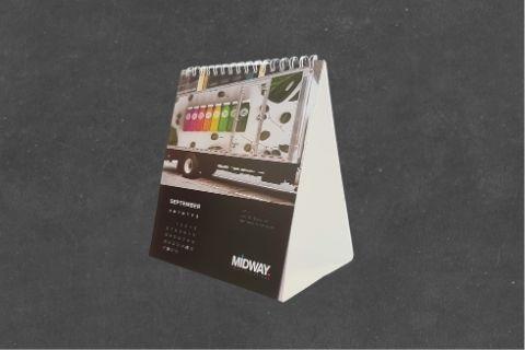 Midway Print - Calendar