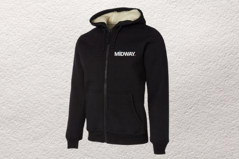 Midway Print -Hoodie