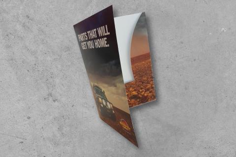 Midway Print - Presentation Folder