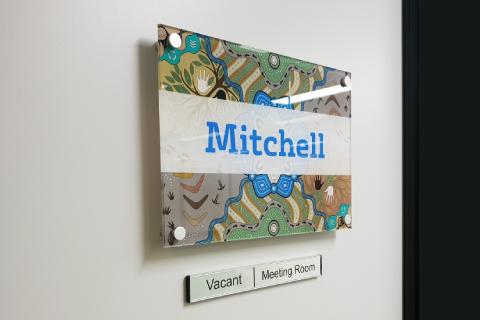 Midway Print - Acrylic Glass Signage