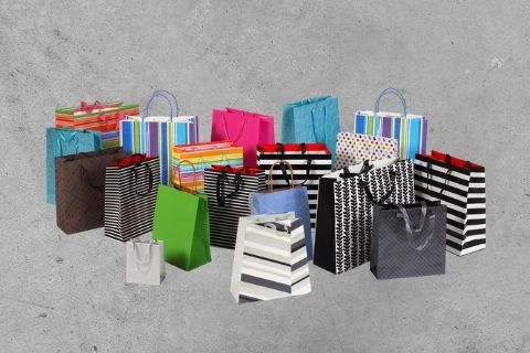 Midway Print - Gift Bags