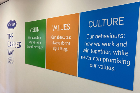 Midway Print - Wall Signage