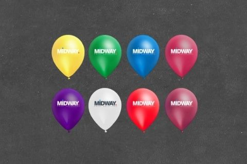 Midway Print - Balloons