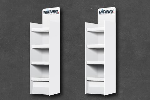 Midway Print - Cardboard Display