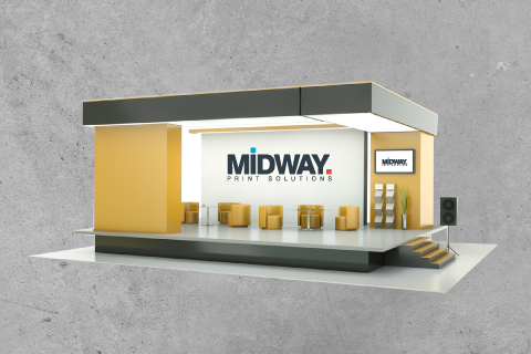 Midway Print - Exhibition Stand