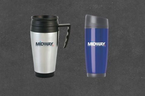 Midway Print - Travel Mugs