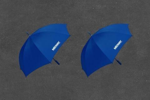 Midway Print - Umbrellas
