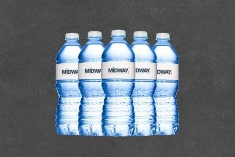 Midway Print - Water Bottles
