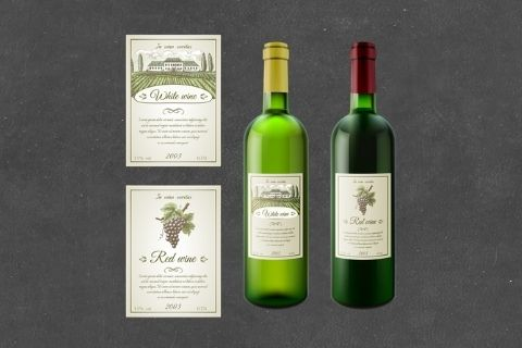 Midway Print - Wine Labels