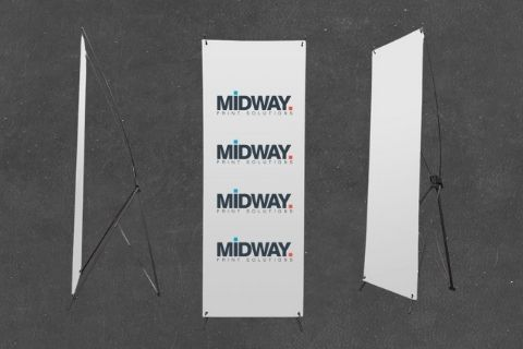 Midway Print - xFrame Poster